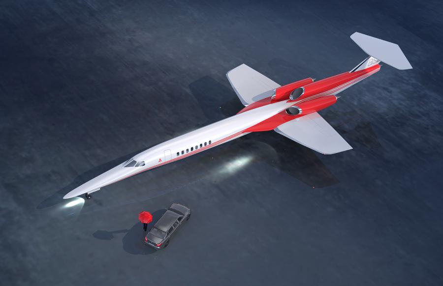 Jet supersónico AS2