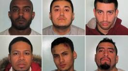 Los maleantes fueron condenadas a 36 años de cárcel