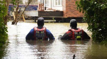 Inundaciones en Glenridding