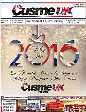 Cusme News UK Edición 11