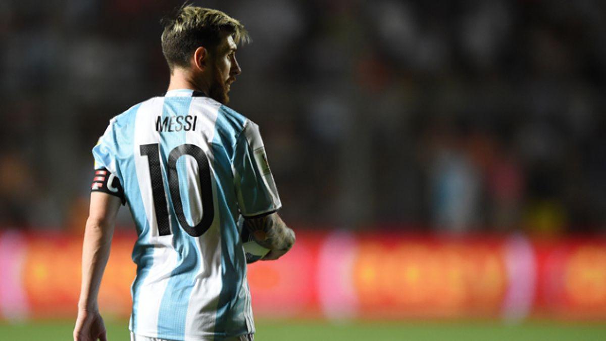 Messi se unió a la selección de Argentina