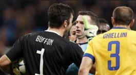 UEFA sanciona a Buffon por perder la cabeza en la Champions