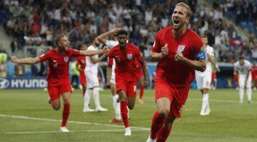Harry Kane le dio la victoria a Inglaterra en el Mundial de Rusia