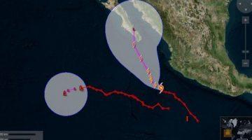 Huracán Bud se fortalece a categoría 3 mientras se acerca a costas mexicanas