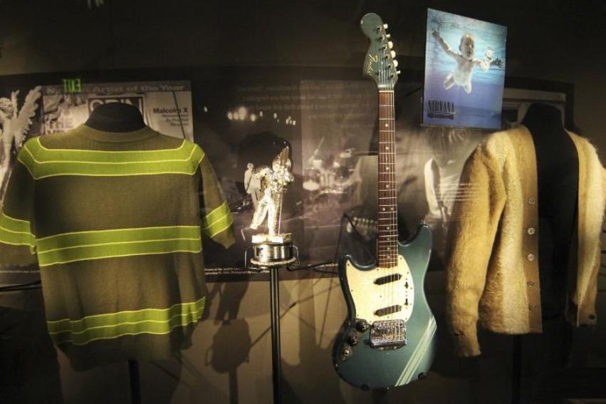 Exhibirán objetos personales de Kurt Cobain en Irlanda