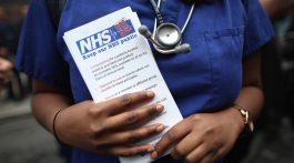 Parte del ahorro del Brexit iría al NHS