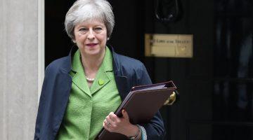Theresa May tuvo un respiro en el Parlamento