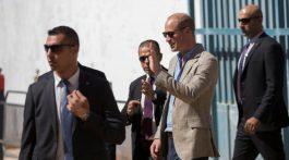 El príncipe William realizó la primera visita oficial de la realeza británica a territorios palestinos