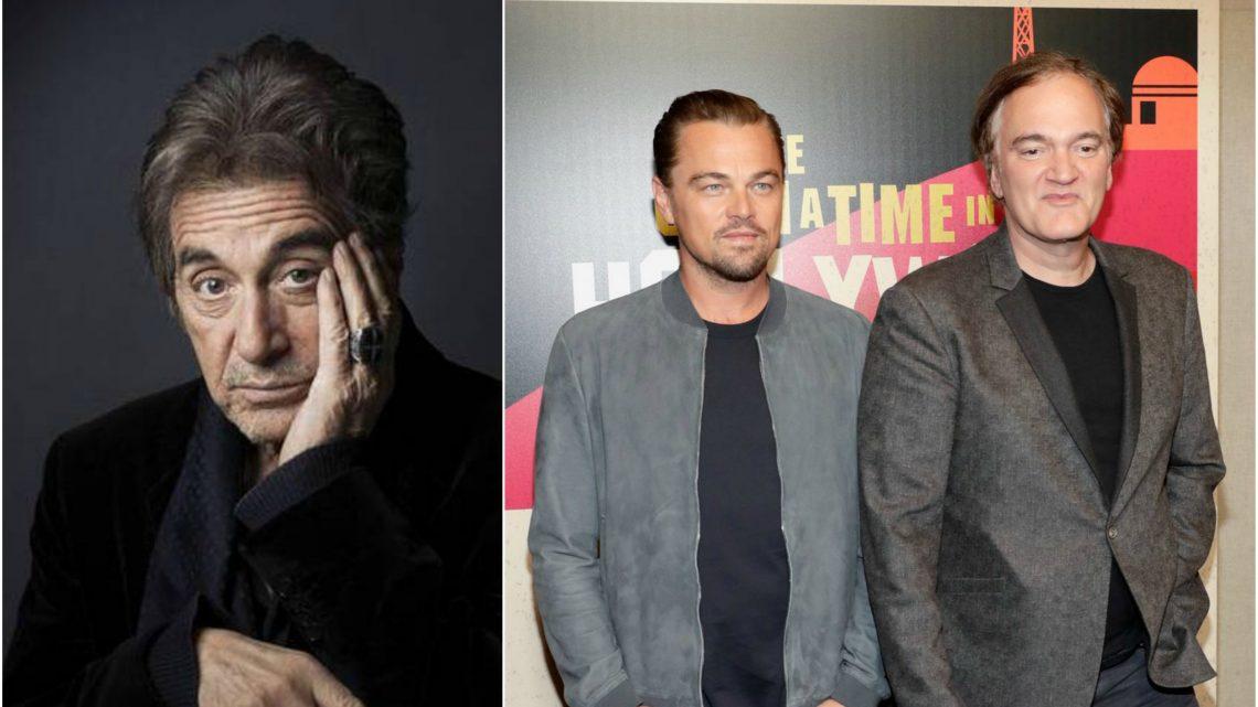 Al Pacino se une al nuevo proyecto de Quentin Tarantino