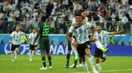 Argentina avanzó a octavos en partido de infarto contra Nigeria