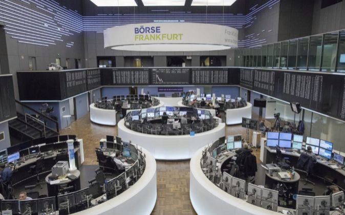 Bolsas europeas apuntan a la baja por temor a guerra comercial