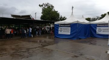 Cascos Blancos argentinos preocupados por desnutrición de niños venezolanos que cruzan a Colombia