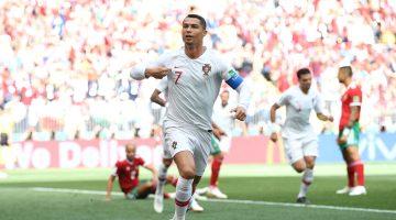 Cristiano se convirtió en el europeo con más goles internacionales