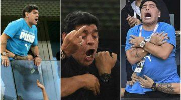 FIFA le pone un freno a Maradona y sus arrebatos