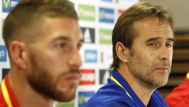 Fernando Hierro, hasta ahora director deportivo de la federación, tomará las riendas de la selección durante el Mundial de Rusia