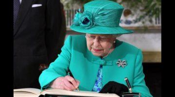 Reina Isabel II aprobó el proyecto de ley del Brexit