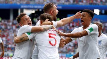 Una contundente Inglaterra goleó este domingo a Panamá, en su segunda aparición en Rusia.