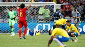 Bélgica derrotó a Brasil y va contra Francia en semifinales