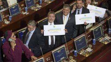 Exguerrilleros de las FARC se instalaron en el Congreso colombiano