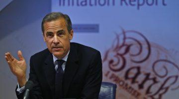 Libra esterlina subió luego de anuncios de Mark Carney, presidente del Banco de Inglaterra