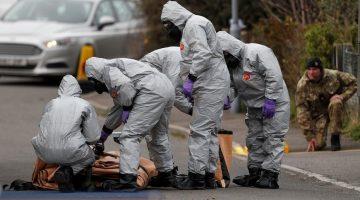 Policía: neurotoxina Novichok puede permanecer activa hasta 50 años