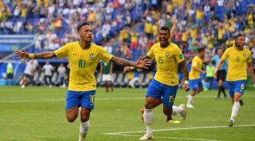 Neymar responde y Brasil dejó a México en octavos