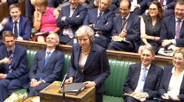 """Theresa May ante el Parlamento: """"Brexit sigue significando Brexit"""""""