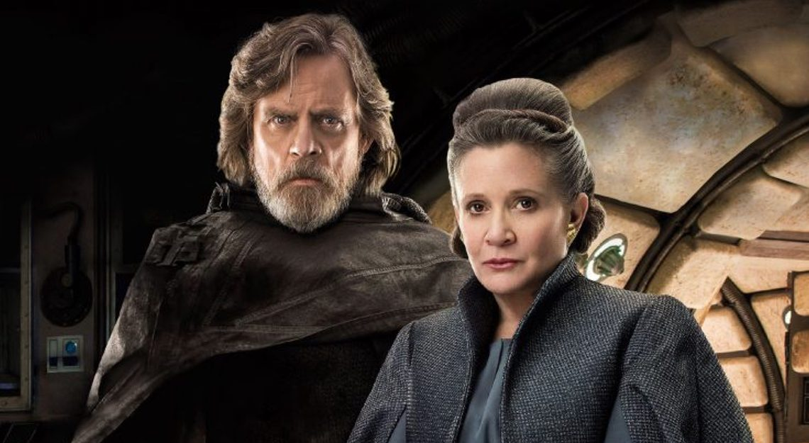 Carrie Fisher estará en próxima película de Star Wars