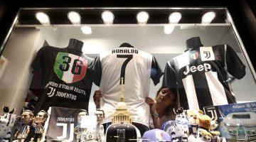 Cada minuto Juventus vende una camiseta de Cristiano Ronaldo