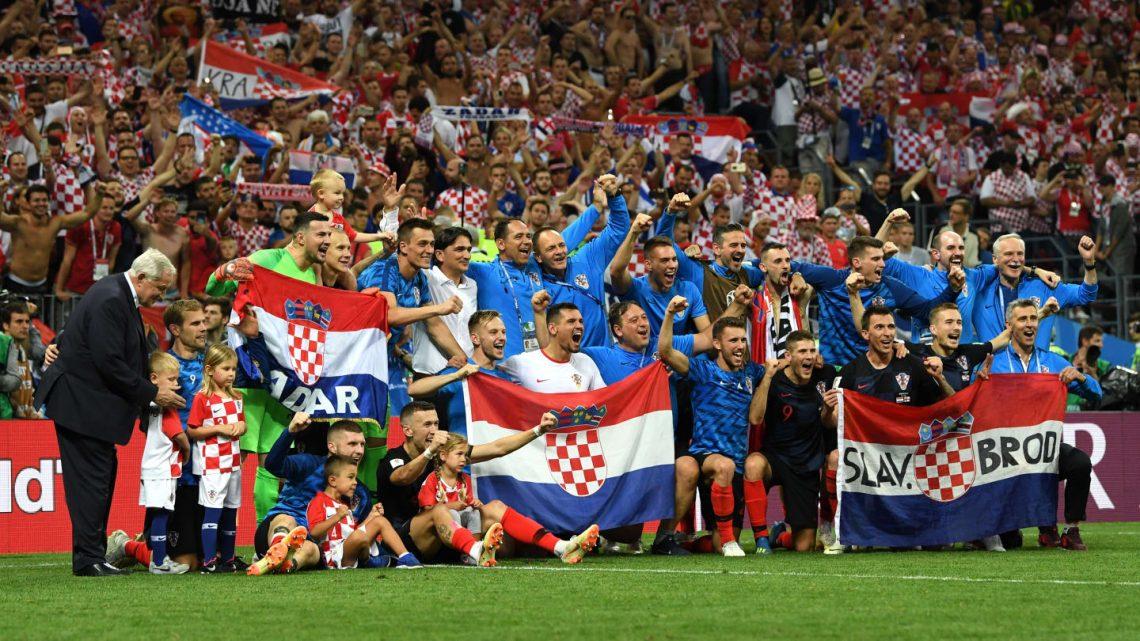 Croacia es finalista histórico; Inglaterra al partido de consolación