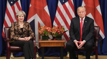 """""""American Idiot"""", Bebé-Trump y protestas: Londres se alista para la visita de Donald Trump"""