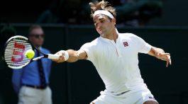 Roger Federer sigue indetenible en Wimbledon