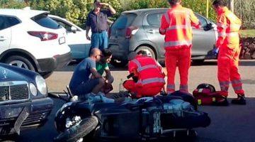 El actor estadounidense George Clooney, de 57 años, ha resultado herido leve tras sufrir un accidente de moto en la isla italiana de Cerdeña
