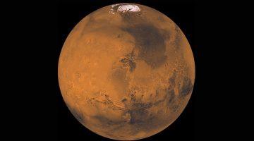 Descubren un lago de agua salada en Marte que podría albergar vida