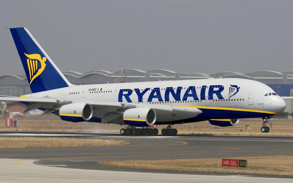 Aerolínea irlandesa Ryanair anunció dos días de huelga