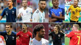 El joven francés Kylian Mbappé y el croata Luka Modric aparecen entre otros junto a Cristiano Ronaldo y Lionel Messi en la lista para obtener el premio al Futbolista del Año de la FIFA, según el anuncio que realizó el martes el organismo rector del fútbol mundial.