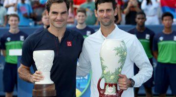 Novak Djokovic hace historia en Cincinnati frente a Roger Federer