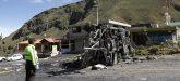Al menos 24 fallecidos tras volcarse bus en Ecuador procedente de Colombia