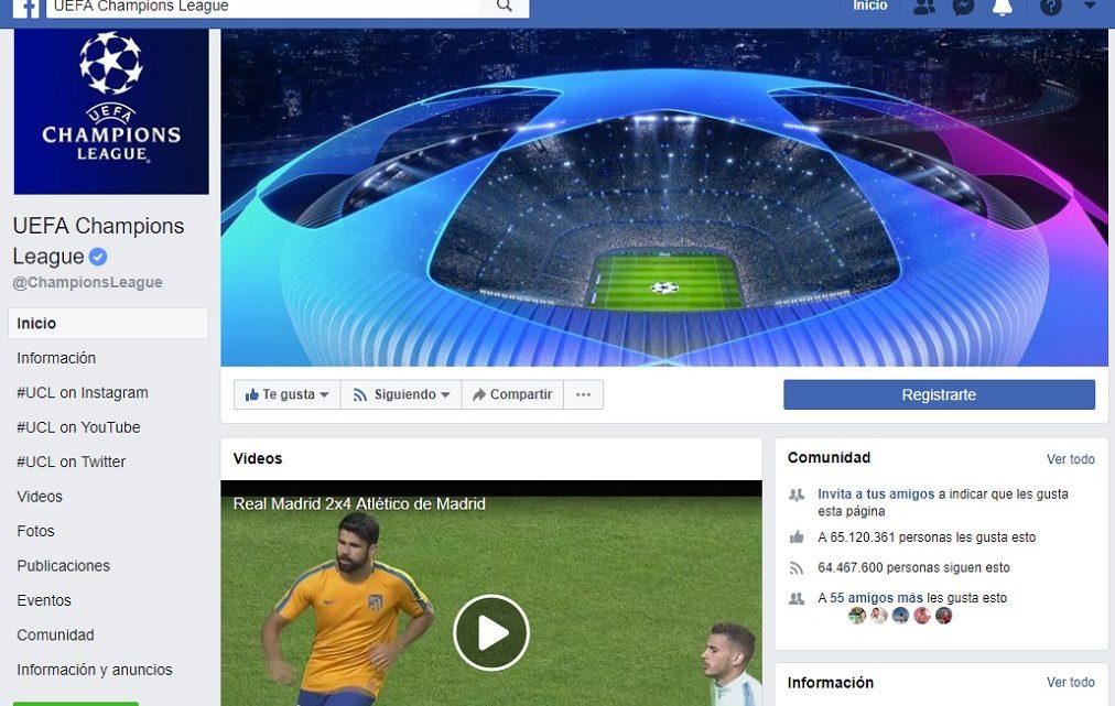 Facebook compró derechos de la Champions para América Latina