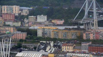 Decenas de muertos tras desplomarse puente en Génova