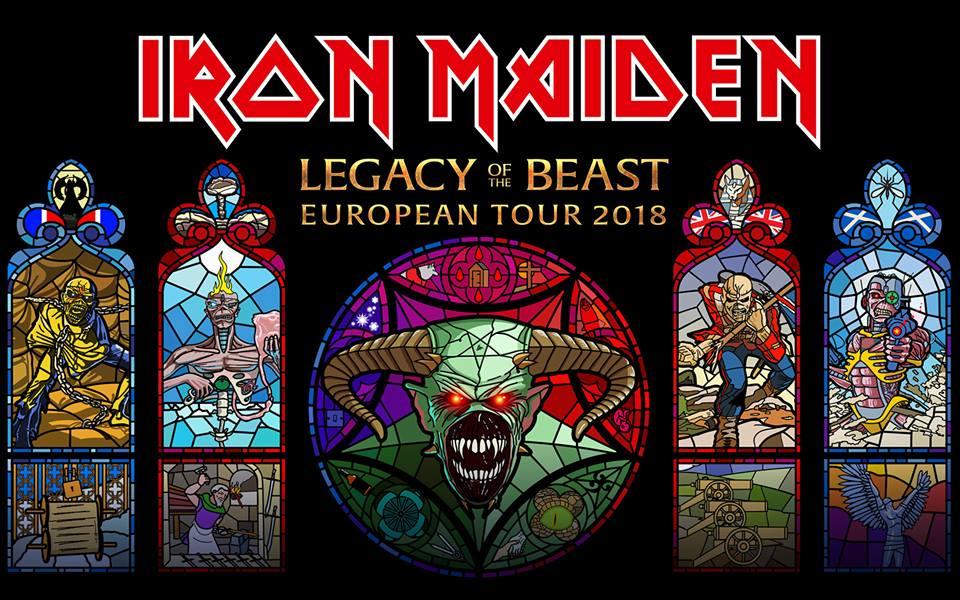 Iron Maiden retumba en Reino Unido con Legacy of the Beast