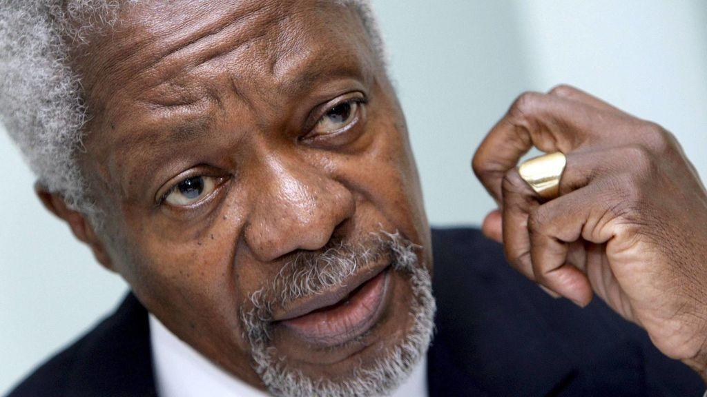 El mundo rinde tributo al exsecretario de la ONU Kofi Annan
