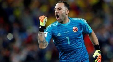 Arsenal envió al colombiano David Ospina al Napoli