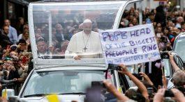 El Papa Francisco pidió perdón en Irlanda