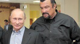 Rusia se encomienda a Steven Seagal para mejorar relación con EE.UU.