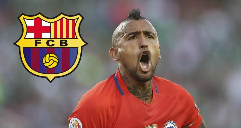 Barcelona sorprende al mercado fichando a Arturo Vidal