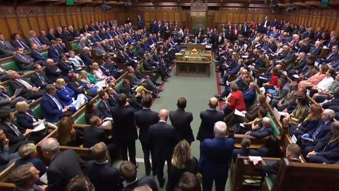 Parlamento británico. (Foto: Agencia)
