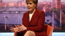 Nicola Sturgeon, ministra principal de Escocia. (Foto: The Independent)