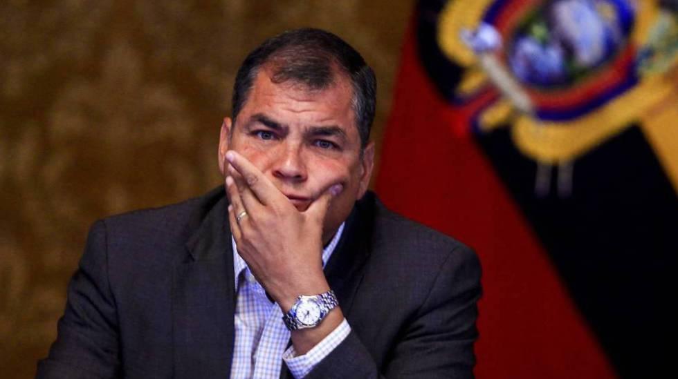 Rafael Correa. (Foto: Agencias)