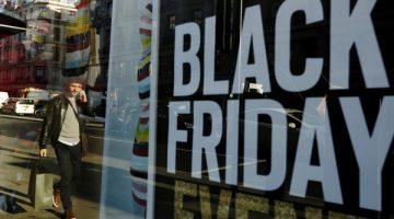 Black Friday en Reino Unido. Foto: Agencias